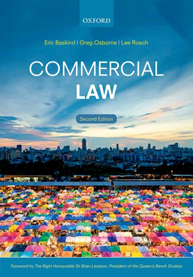 Commercial Law finance and investments