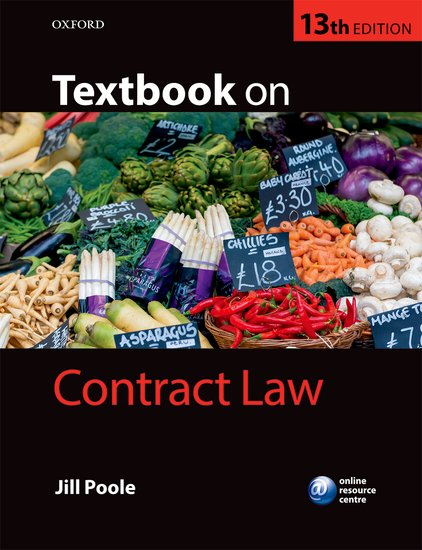 Textbook on Contract Law cases materials and text on consumer law