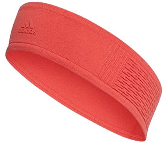 Повязка на голову женская Adidas Engineer Headba, цвет: коралловый. CF3280. Размер OSFW (54/56)CF3280Спортивная повязка на голову Adidas Engineer Headba предназначена для активных тренировок. Отлично защитит ваши глаза от пота, даже в при самых интенсивных нагрузках.