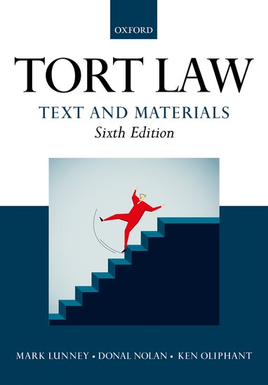 Tort Law: Text and Materials cases materials and text on consumer law