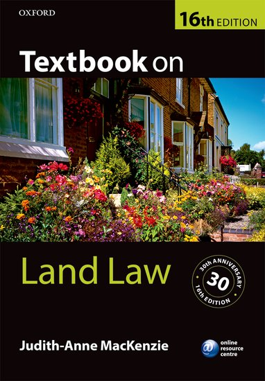 Textbook on Land Law cases materials and text on consumer law