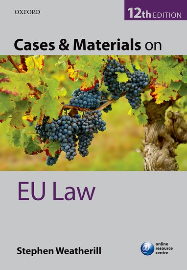 Cases & Materials on EU Law cases materials and text on consumer law