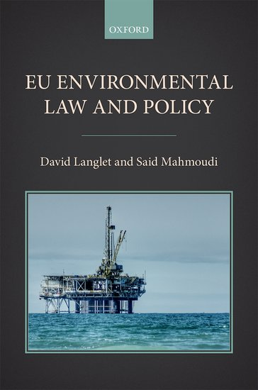 EU Environmental Law and Policy environmental law