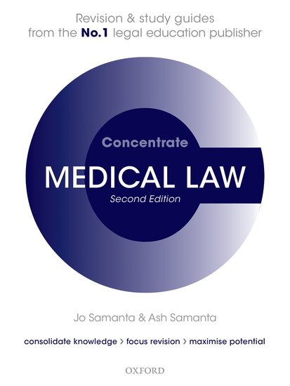 Medical Law Concentrate cases materials and text on consumer law