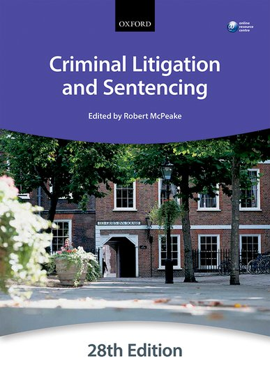 Criminal Litigation and Sentencing construction litigation formbook 1993 cumulative supp