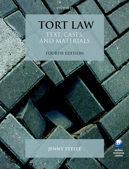 Tort Law cases materials and text on consumer law