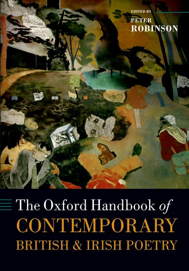 The Oxford Handbook of Contemporary British and Irish Poetry self and sensibility in contemporary american poetry