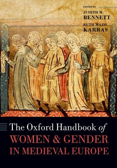 The Oxford Handbook of Women and Gender in Medieval Europe the oxford handbook of sound and image in western art