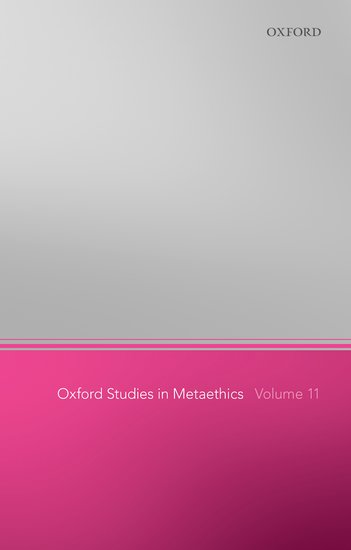 Oxford Studies in Metaethics 11 affair of state an