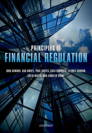 Principles of Financial Regulation h david kotz financial regulation and compliance