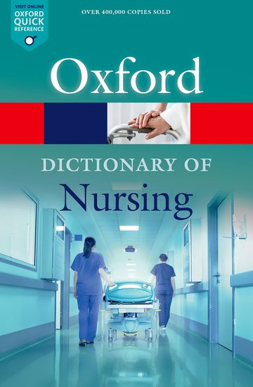 A Dictionary of Nursing it s all about scary spiders