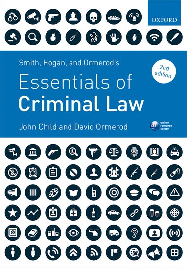 Smith, Hogan, & Ormerod's Essentials of Criminal Law case of madeleine smith