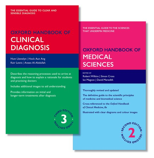 Oxford Handbook of Clinical Diagnosis and Oxford Handbook of Medical Sciences oxford textbook of medicine cardiovascular disorders