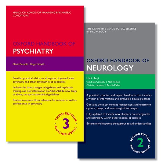 Oxford Handbook of Psychiatry and Oxford Handbook of Neurology handbook of machine and computer vision the guide for developers and users