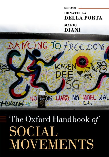 The Oxford Handbook of Social Movements material change design thinking and the social entrepreneurship movement