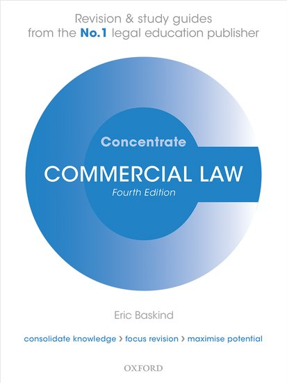 Commercial Law Concentrate cases materials and text on consumer law