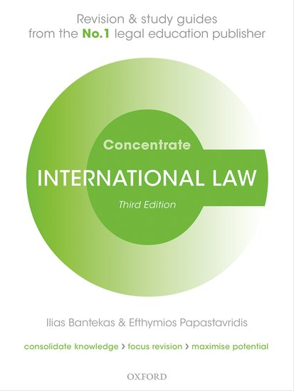 International Law Concentrate cases materials and text on consumer law