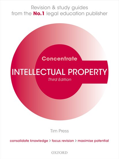 Intellectual Property Law Concentrate cases materials and text on consumer law