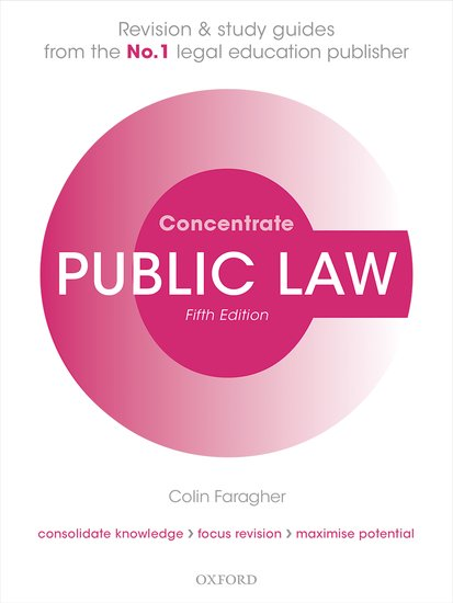 Public Law Concentrate cases materials and text on consumer law