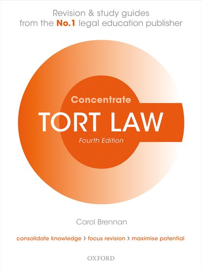 Tort Law Concentrate cases materials and text on consumer law