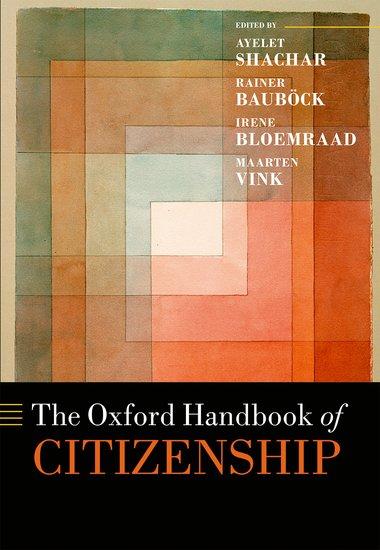 The Oxford Handbook of Citizenship the oxford handbook of early modern european history 1350 1750