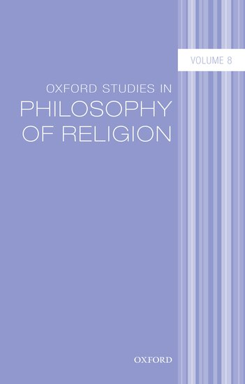 Oxford Studies in Philosophy of Religion Volume 8 an area of darkness
