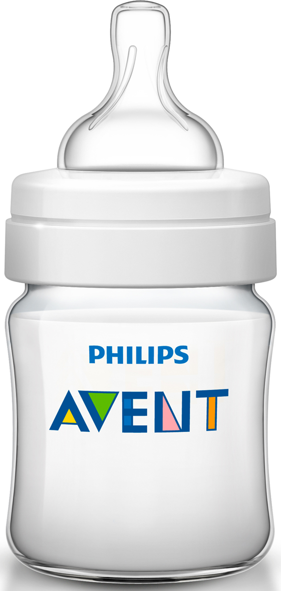 Philips Avent Classic+ SCF560/17 бутылочка 125 мл, 1 шт, 0+