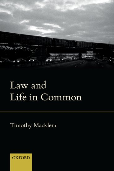 Law and Life in Common the law of life and death