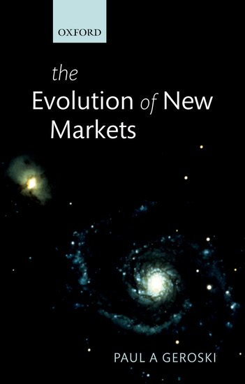 The Evolution of New Markets anthony evans j markets for managers a managerial economics primer