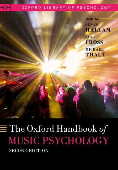 The Oxford Handbook of Music Psychology an area of darkness