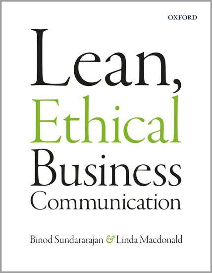 Lean, Ethical Business Communication mastering business communication macmillan master series business