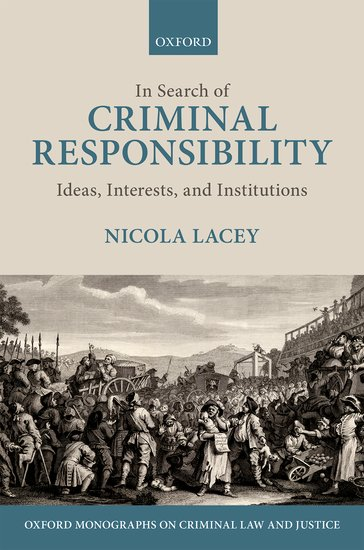 In Search of Criminal Responsibility new england textiles in the nineteenth century – profits