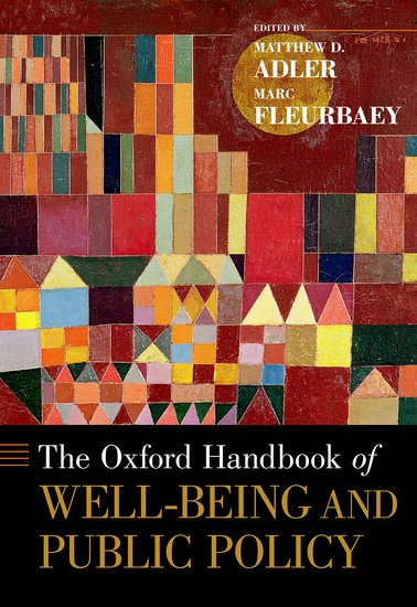 The Oxford Handbook of Well-Being and Public Policy handbook of law and economics 1 handbook of law and economics