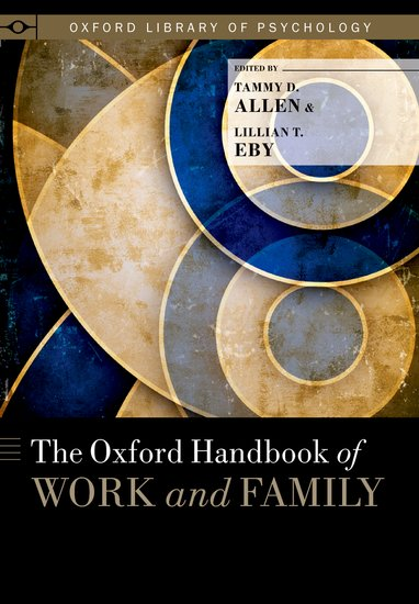 The Oxford Handbook of Work and Family richard schmalensee handbook of industrial organization 1
