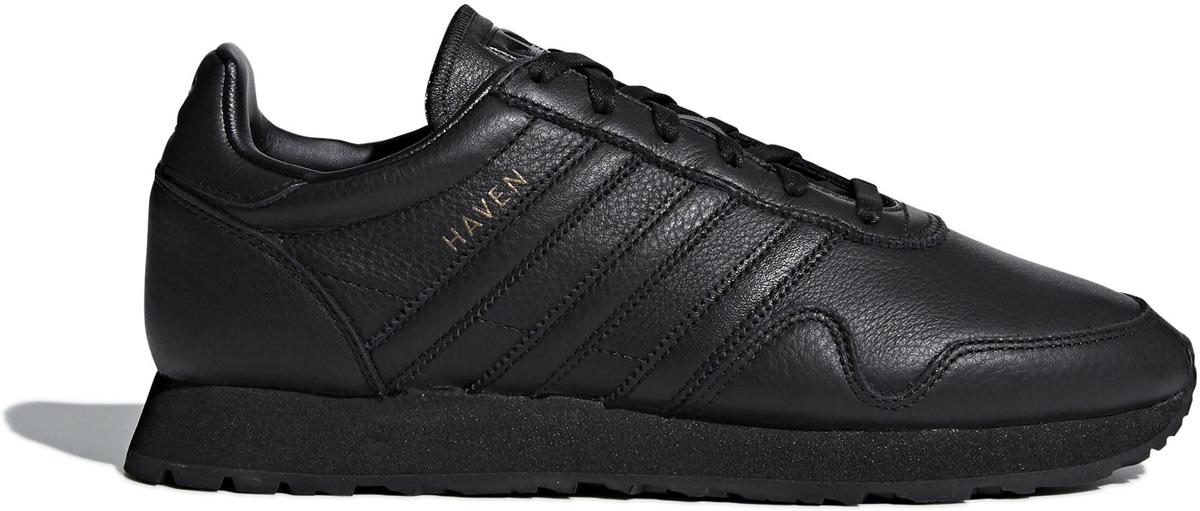 Кроссовки мужские Adidas Originals Haven, цвет: черный. CQ3036. Размер 12 (46)