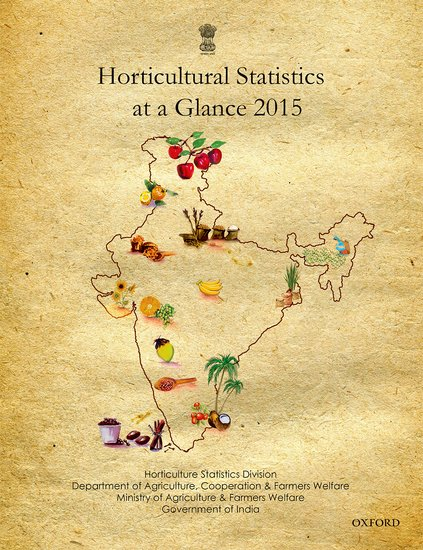 Horticultural Statistics at a Glance 2015 a force presents volume 2
