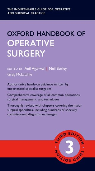 Oxford Handbook of Operative Surgery the operative