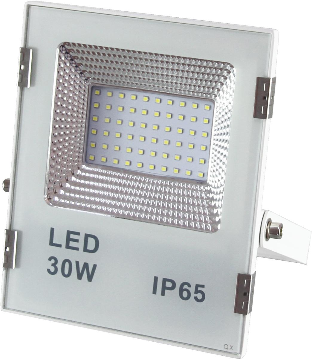 FE-ZS30LED - светодиодный прожектор, предназначенный для освещения большого пространства или подсветки объектов и сооружений различного назначения. Высокая степень защиты от любых погодных условий IP65. Потребляемая мощность 30 Вт. Световой поток 2400 Лм.