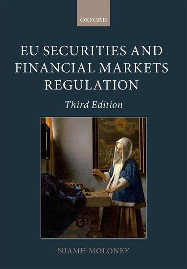 EU Securities and Financial Markets Regulation h david kotz financial regulation and compliance