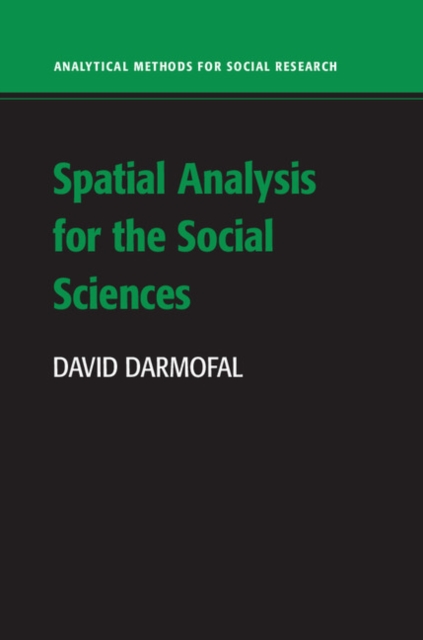 Spatial Analysis for the Social Sciences spatial analysis of malaria amansie west ghana