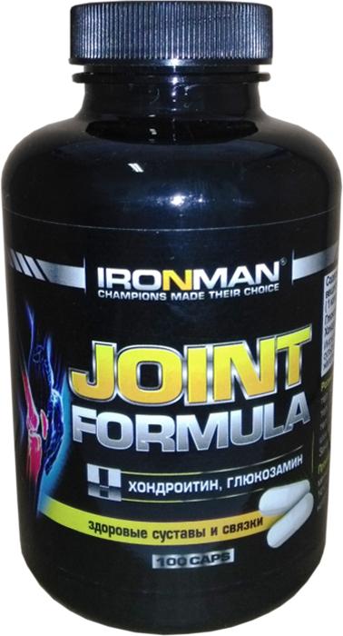 Глюкозамин и хондроитин Ironman Joint Formula, 100 капсул ironman коллаген в екатеринбурге
