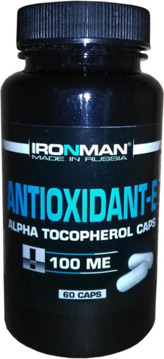 Антиоксидант Ironman Антиоксидант-Е, 60 капсул ironman коллаген в екатеринбурге