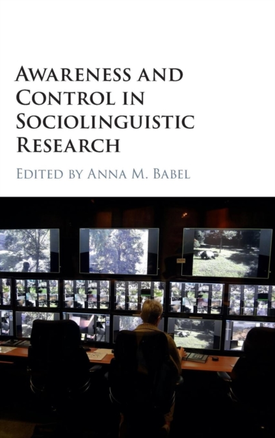 Awareness and Control in Sociolinguistic Research cybernetics or control