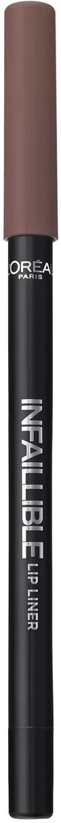 LOreal Paris Карандаш для контура губ Infaillible, оттенок 212, Идеальный КапучиноA9324660Стойкий карандаш для губ помогает создать идеальный контур и не дает помаде растекаться. Невероятный выбор насыщенных ультрамодных оттенков.