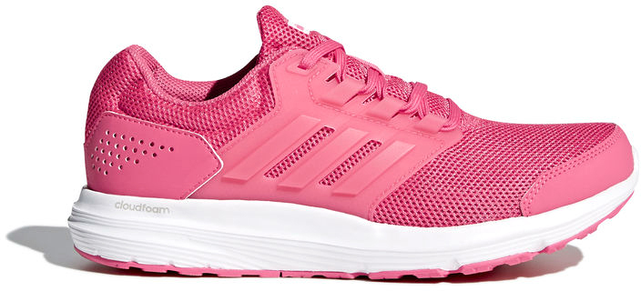 Кроссовки для бега женские Adidas Galaxy 4, цвет: розовый, белый. CP8840. Размер 7,5 (40)CP8840Беги словно по облаку в этих кроссовках. Мягкая промежуточная подошва cloudfoam обеспечивает отличную амортизацию и поглощает ударную нагрузку при каждом приземлении. Дышащий сетчатый верх дополнен литыми вставками для легкой поддержки. Прочная подошва не теряет своих свойств в течение долгого времени.Тип поддержки стопы: нейтральныйМногослойный сетчатый верх для максимальной вентиляцииУдобное мягкое голенище; литая объемная окантовка Fitpanel усиливает устойчивость стопы во время бегаКомфортная и функциональная стелька OrthoLite с антимикробным покрытиемПромежуточная подошва cloudfoam для поглощения ударных нагрузок и комфортной посадки без разнашиванияИсключительно износостойкая подошва Adiwear