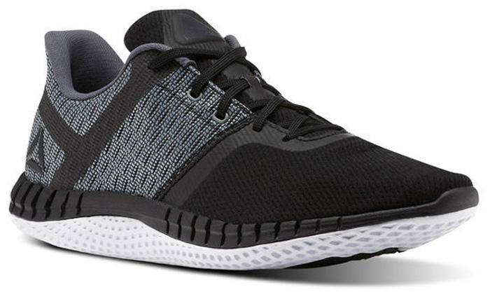Кроссовки для бега мужские Reebok Print Run Next цвет: черный, серый. CN0420. Размер 7,5 (40)CN0420Необыкновенно легкие беговые кроссовки, с которыми ты сможешь добиться новых рекордов.
