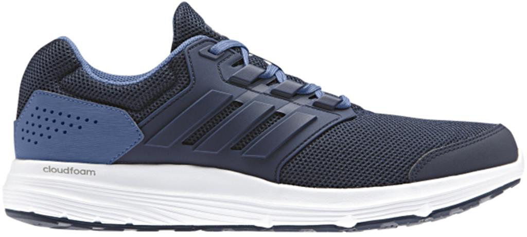 Кроссовки для бега мужские Adidas Galaxy 4 M, цвет: синий. CP8828. Размер 11 (44,5) стиральная машина узкая lg f12u1hbs4