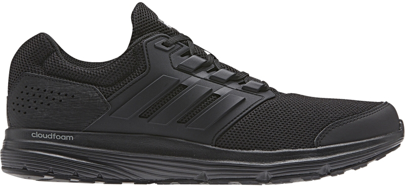 Кроссовки для бега мужские Adidas Galaxy 4 M, цвет: черный. CP8822. Размер 7 (39)