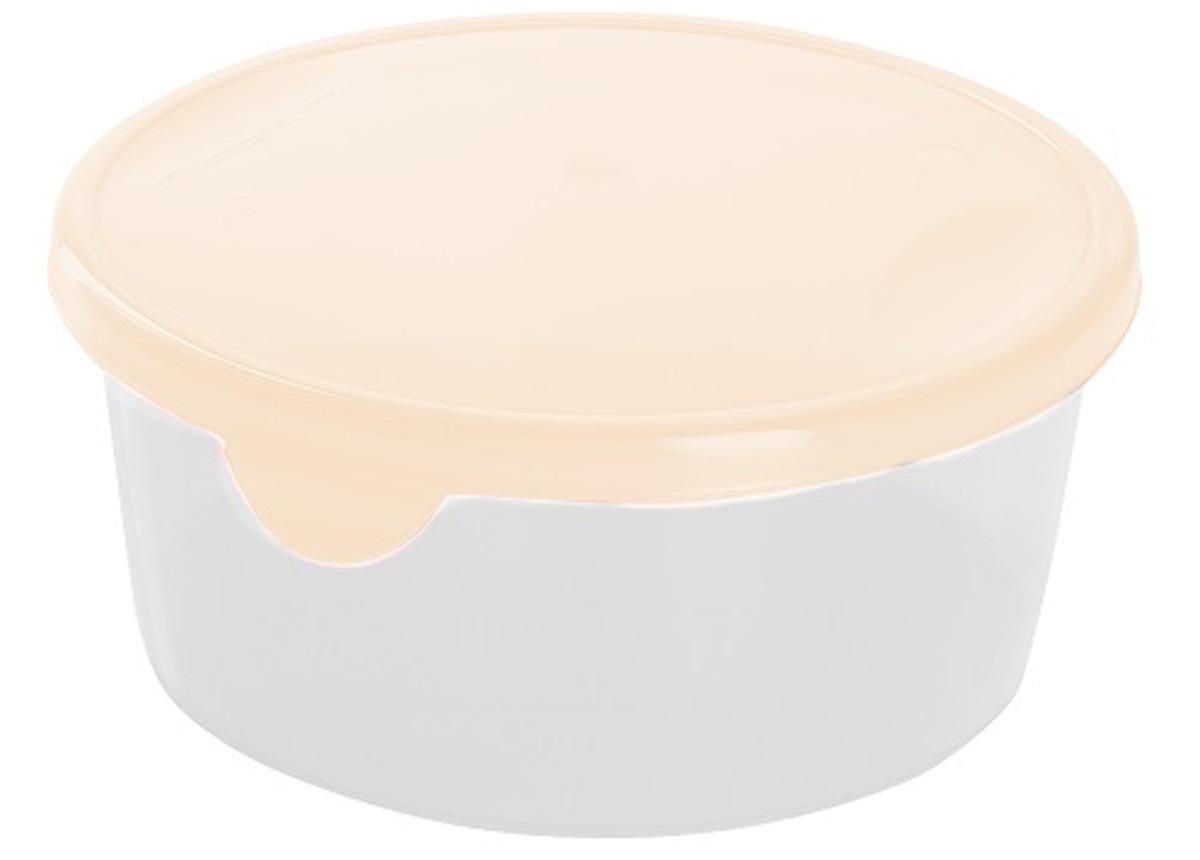 Емкость для продуктов Giaretti Браво, цвет: кремовый, 500 млGR1032Легкую емкость Giaretti одинаково удобно взять с собой или хранить продукты дома, замораживать ягоды и овощи небольшими порциями. Тонкий, но вместе с тем прочный пластик обеспечивает надежность изделия.