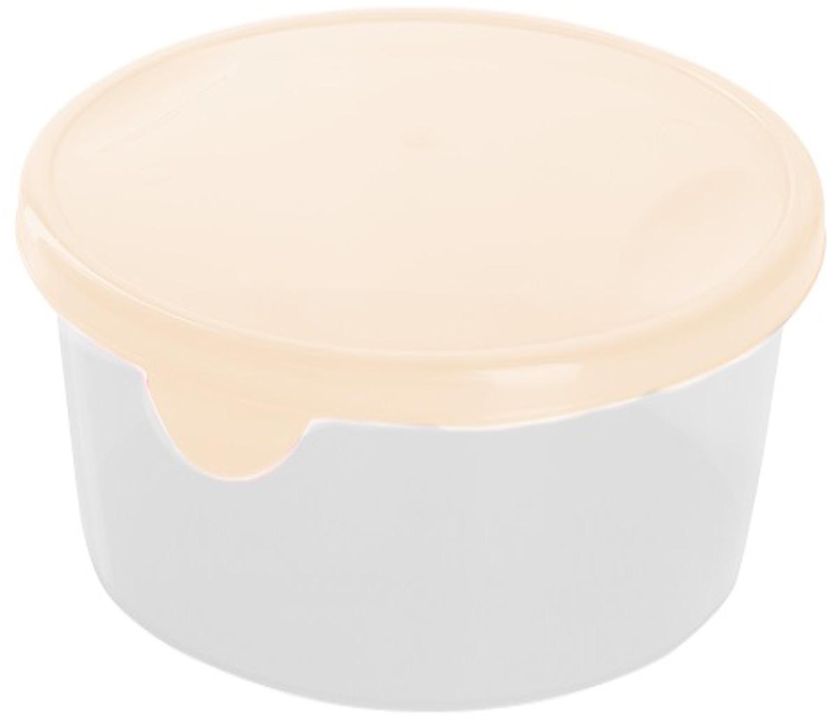 """Легкую емкость """"Giaretti"""" одинаково удобно взять с собой или хранить продукты дома, замораживать ягоды и овощи небольшими порциями. Тонкий, но вместе с тем прочный пластик обеспечивает надежность изделия. Можно мыть в посудомоечной машине и использовать в микроволновой печи."""